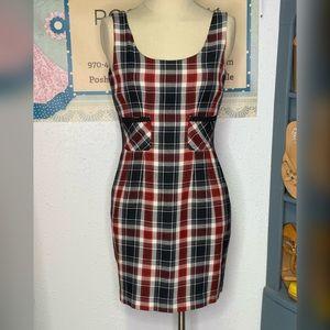 Ann Taylor Plaid Dress